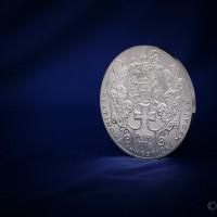 Investiční platinová medaile, 500g