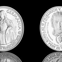 Stříbrná investiční medaile, avers, revers, proof