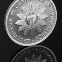 Stříbrná medaile, proof