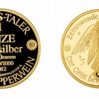 Produktové foto - zlatá medaile, proof