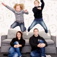 Profesionální rodinné focení