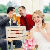 Svatební momentka
