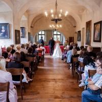 Svatba v rytířském sále (galerie) na Grabštejně (© Jan Jirouš)