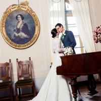 Svatební inspirace v salonku s pianem, hrad Valdštejn (© Jan Jirouš)
