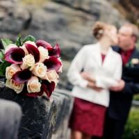Svatební kytice - hrad Valdštejn (© Jan Jirouš)