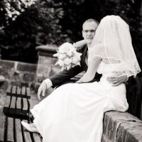 Svatební foto na Hrubém Rohozci (© Jan Jirouš)