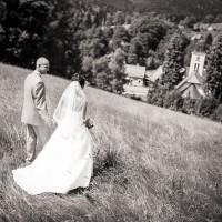 Svatba v Loučné u Jablonce nad Nisou (© Jan Jirouš)