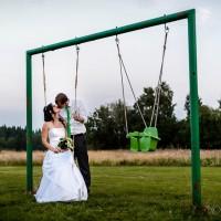 Svatební inspirace - houpačka (© Jan Jirouš)