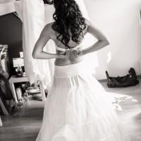 Přípravy nevěsty - oblékání (© Jan Jirouš)