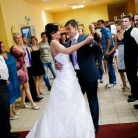 První tanec nevěsty a ženicha - Hotel Petra v Liberci (© Jan Jirouš)