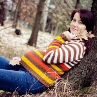 Těhotenské foto - podzim