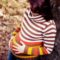 Podzimní těhotenské focení