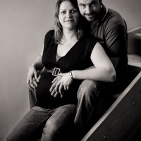 Těhotenské focení doma