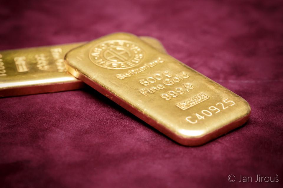 Zlaté cihličky - investice do zlata - Česká mincovna