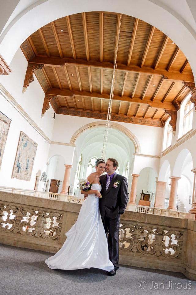 Svatba v Severočeském muzeu v Liberci (© Jan Jirouš)