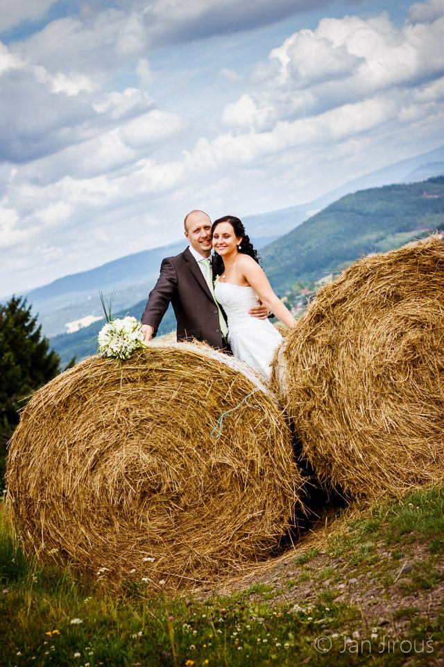Svatební foto na Rašovce (© Jan Jirouš)