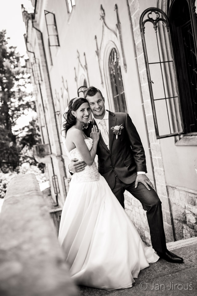 Svatba na zámku Sychrov (© Jan Jirouš)
